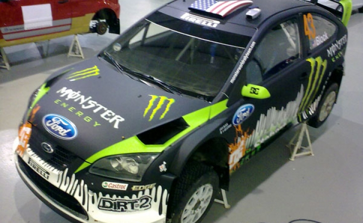 Monster Energy World Rally Car Wrap Astsigns