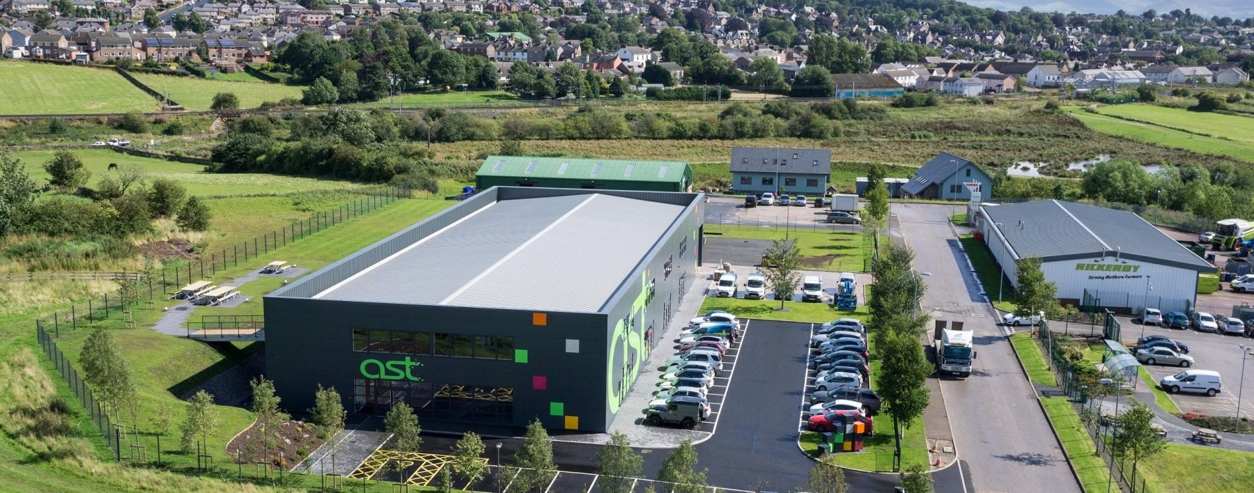 Ast Signs new purpose built head office