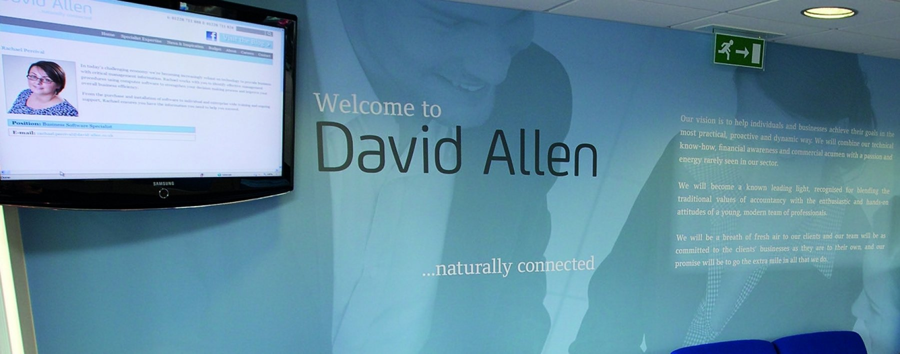 David Allen Astaura interior wall wrap