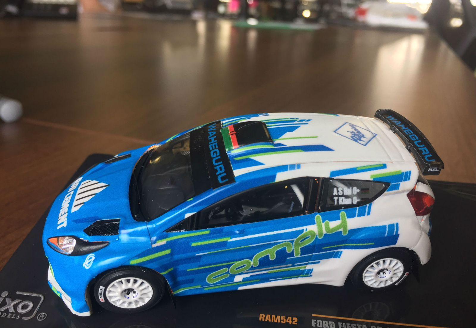 Rally Car Wedding Cake