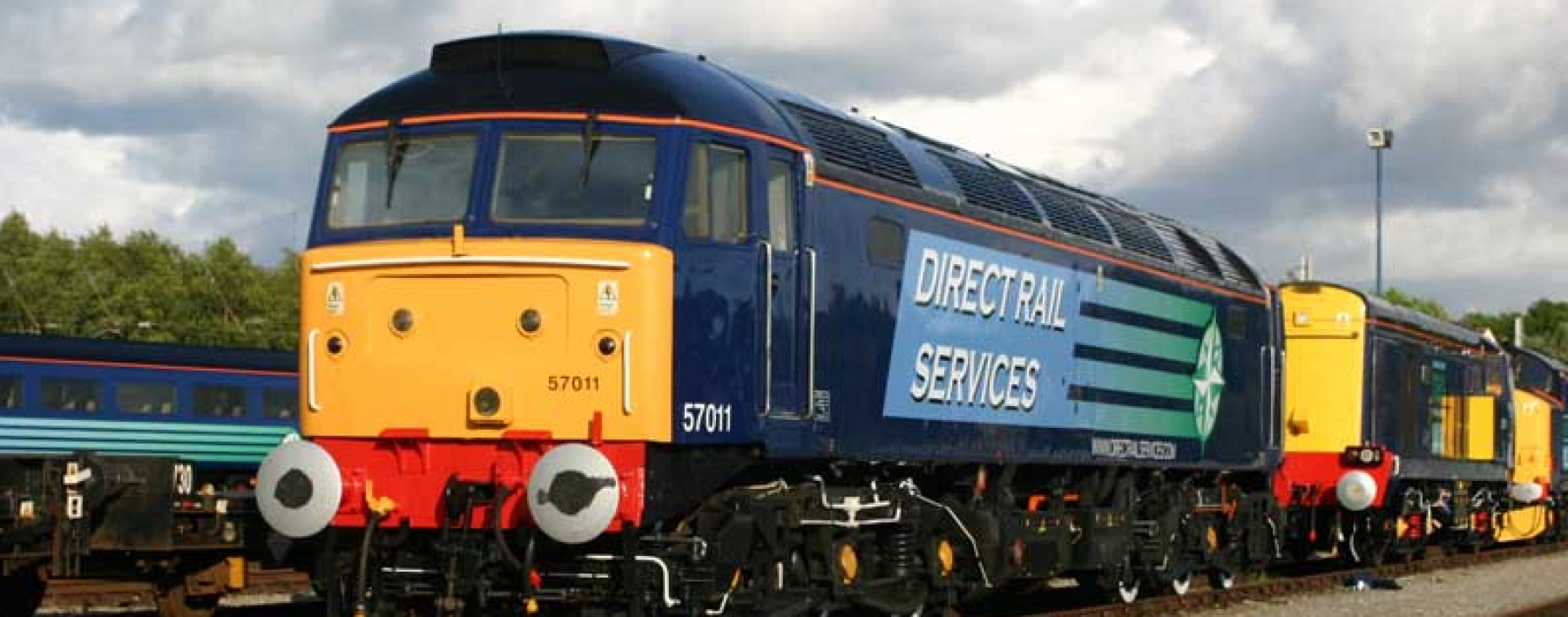 Direct Rail Services fleet livery