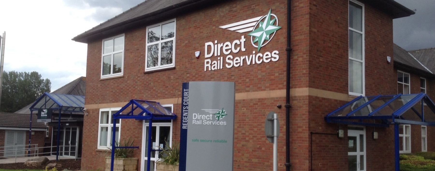 Direct Rail Services' new offices
