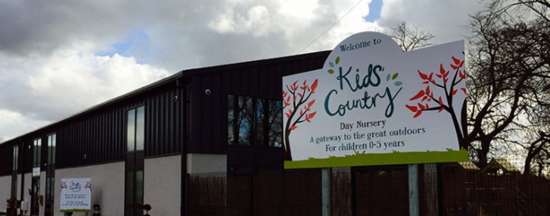 Kids Country Nursery Signage by Ast Signs