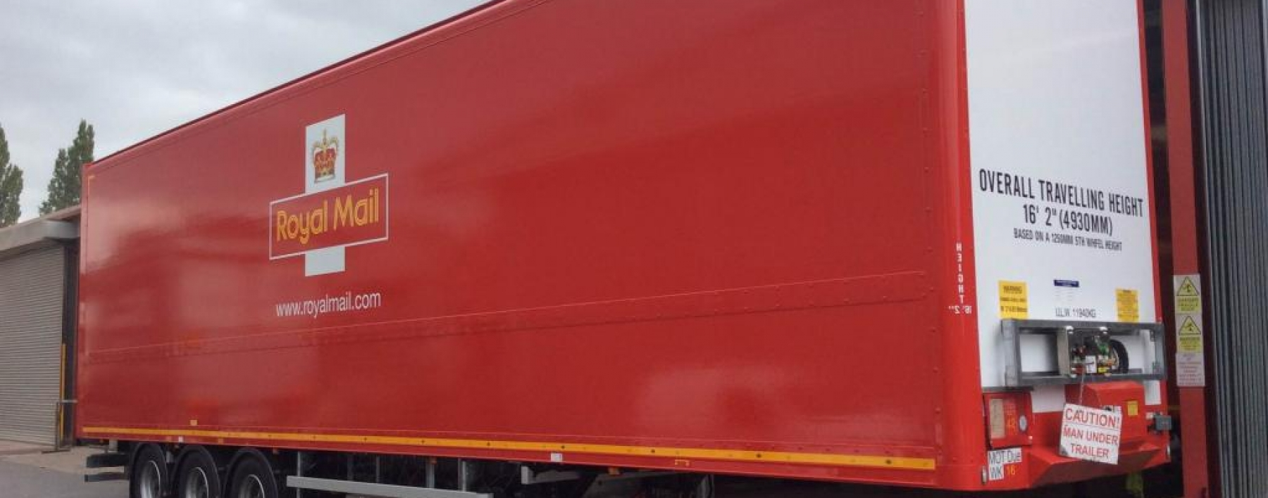 Royal mail vehicle livery