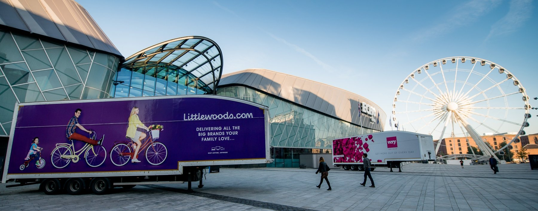 Vehicle Livery for Shop Direct brands; Littlewoods and Very