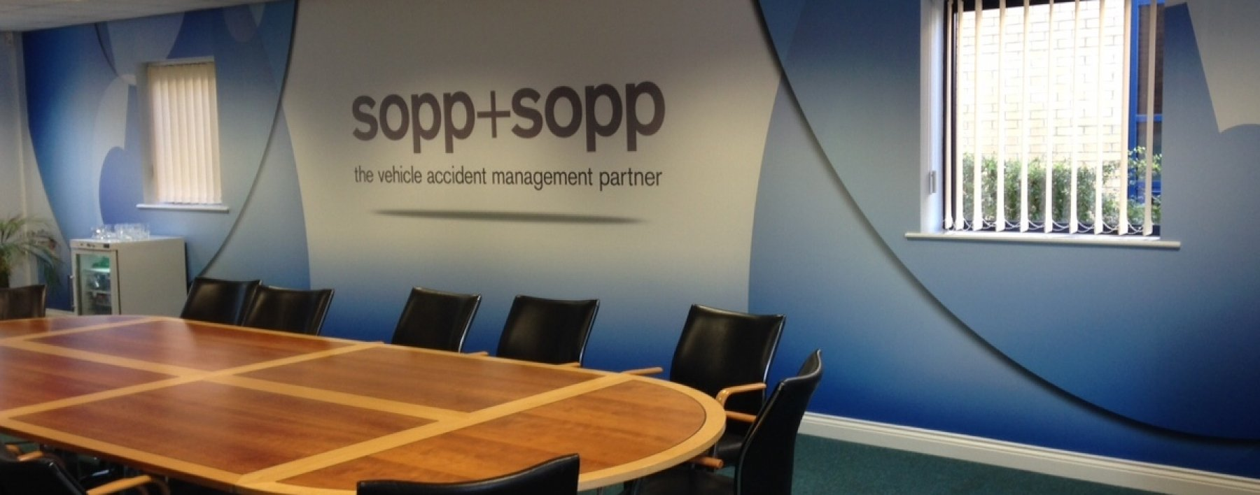 Sopp and Sopp building signage by Ast Signs