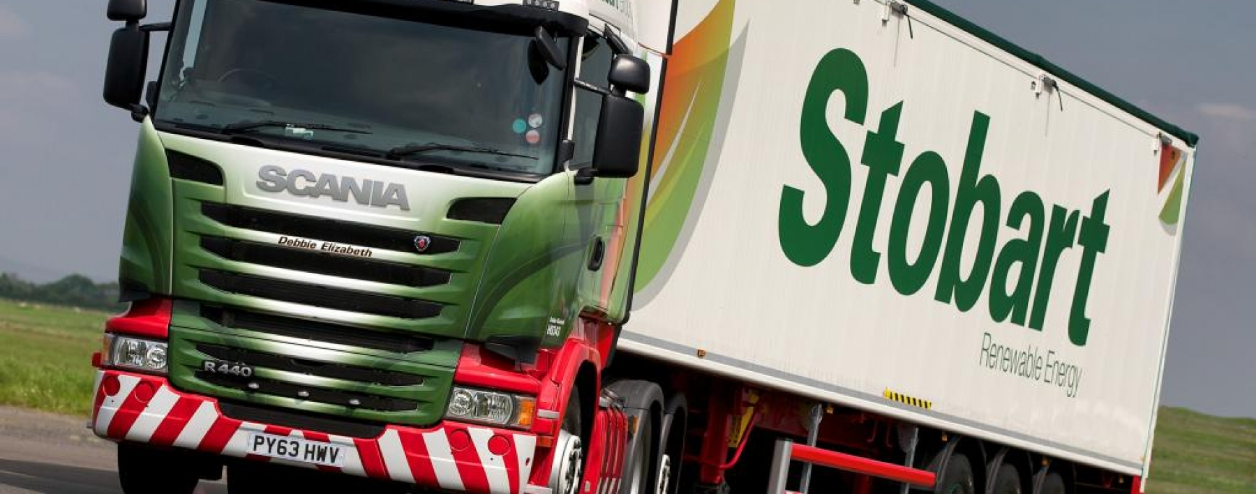 Stobart Biomass new vehicle livery