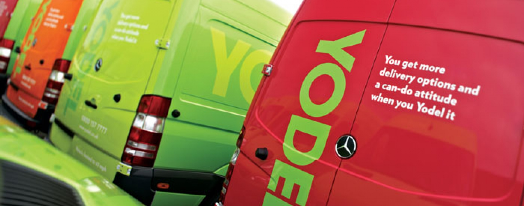 Yodel vehicle livery by Ast Transport Branding